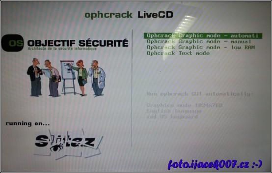 obrázek ophcrack
