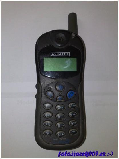 První mnou vlastněný mobilní telefon.