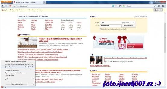 obrázek AdBlock přidání filtru