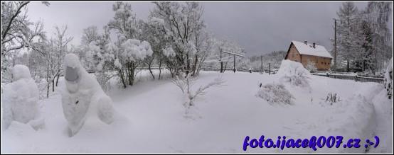 sníh kam se podíváš