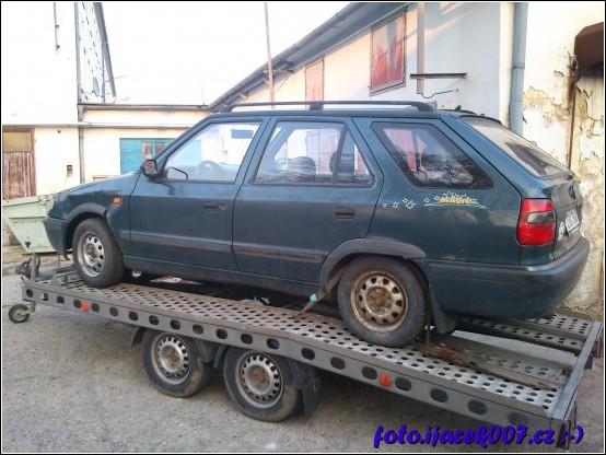 obrázek  náhradní vůz