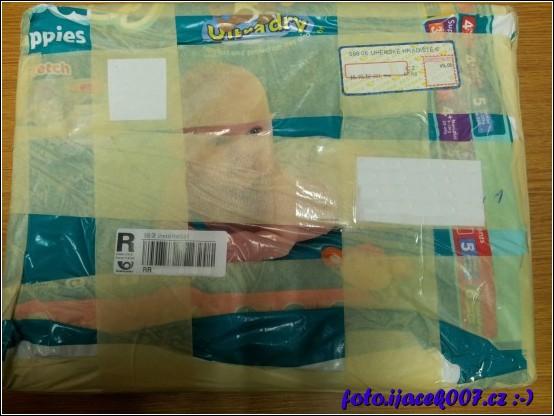 i v balíku od plenek se dá poslat zásilka