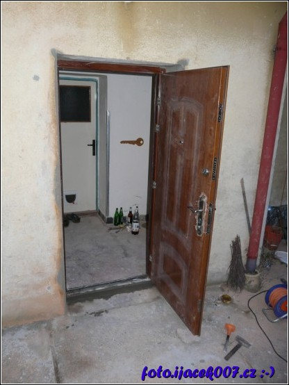 výměna domových dveří