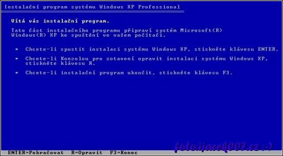instalační program systému Windows