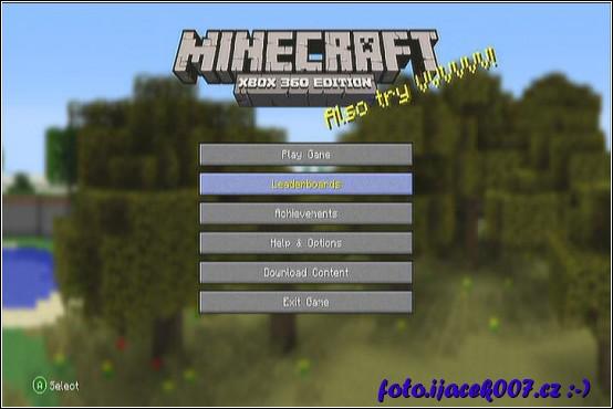 obrázek minecraft xbox edition