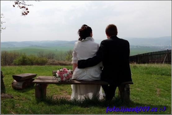 obrázek pohoda po svatbě