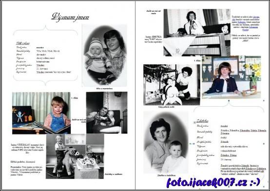 fotografie novomanželů z dětství