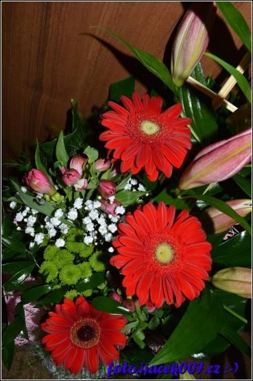 rozkvetlá kytice
