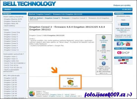 obrázek bell technology web