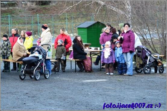 Návštěvníci akce Krasovský mikuláš