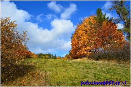 Podzim a jeho barvy dokáží vykouzlit krásné pohledy