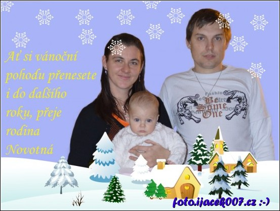 Přání k Vánocům roku 2013