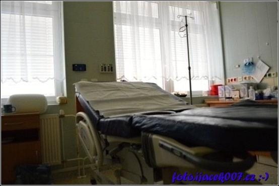 Pohled na porodní sál