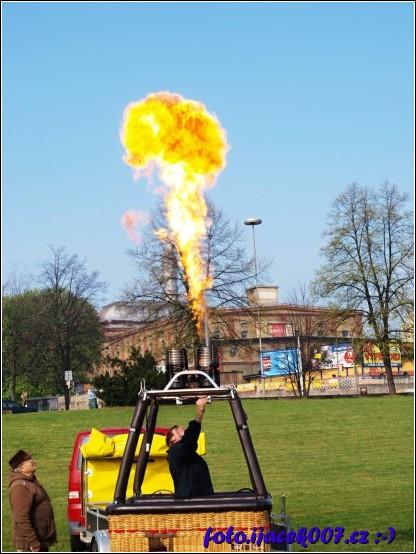 obrázek test hořáku