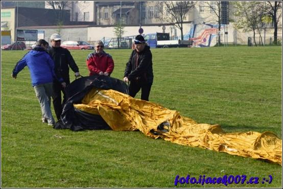obrázek Vybalování balonu