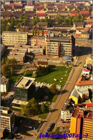 budova SMVAKu z balonu :-)