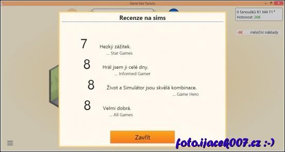 každou hru kterou vydáte poté recenzenti podrobně a přísně hodnotí