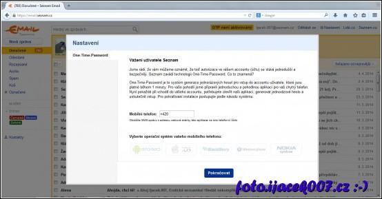 i takto muže vypadat stránka serveru seznam jejiž obsah je uměle pozměněn tak aby normální uživatel na nic nepřišel.