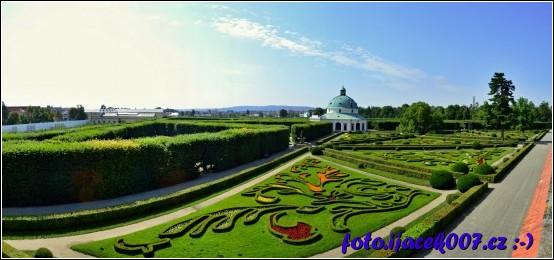 obrázek květná zahrada kroměříž