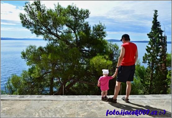 pohled na krásu pobřeží ostrova Čiovo
