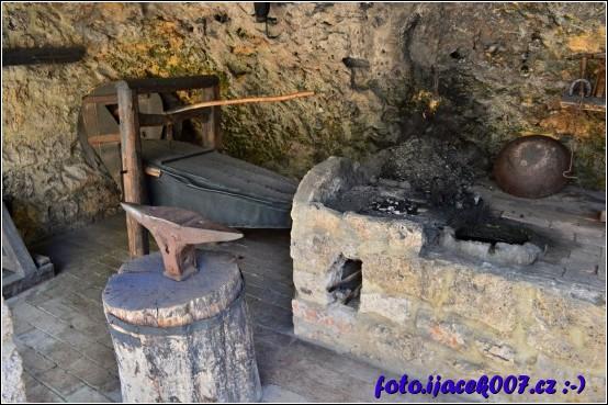 ukázka kovářské dílny