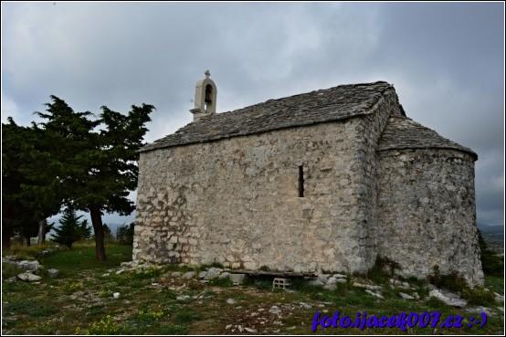 na kostelíky narazíte po celém Chorvatsku