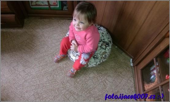 první test pod sedáku
