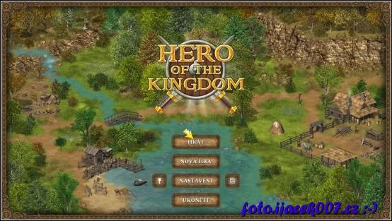 úvodní obrazovka z hry