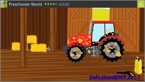 v tomto úkole je nutné vyčistit traktor