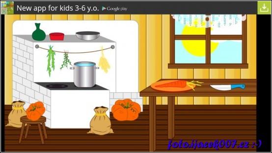 v tomto úkolu máte například za ukol připravit polévku připravit suroviny a vše povařit
