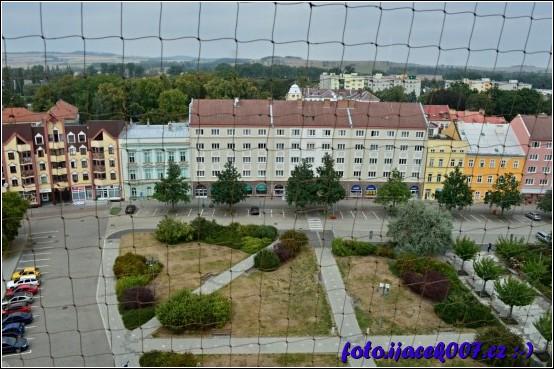pohled na náměstí