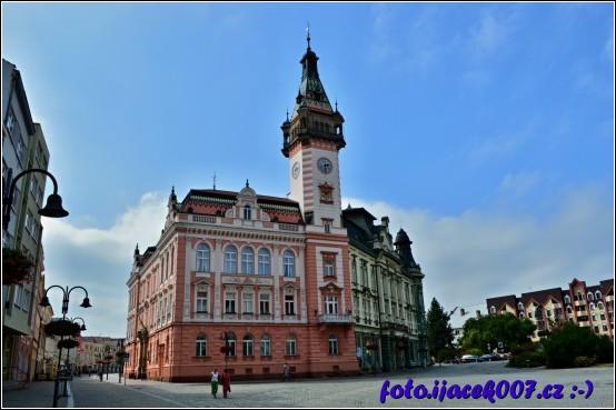 Krnovská radnice.
