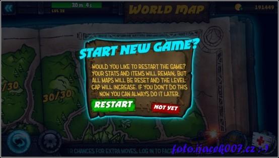 tento dialog se zobrazí po dohrání základního herního plánu.
