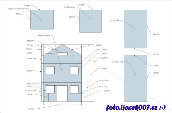 nejprve bylo nutné vytvořit plán stavby