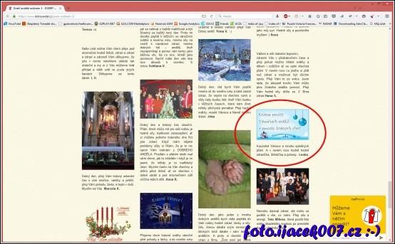 přání z našeho blogu použité Pavlou na stránkách dobryandel.cz