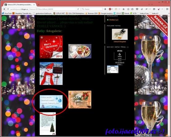 naše grafika nalezená na stránkách blogerky