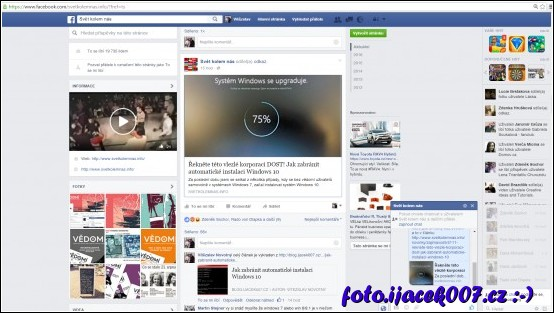 facebookový profil odkazující na muj text zkopírovány na cizí webové stránce
