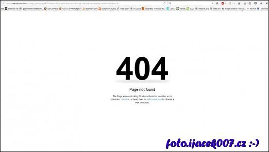 zablokování stránky porušující autorský zákon
