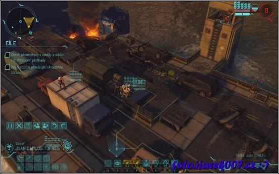 mise data disku Enemy Within o záchranu vodní přehrady.