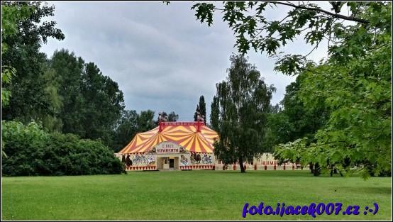 Stan cirkusu v Krnově
