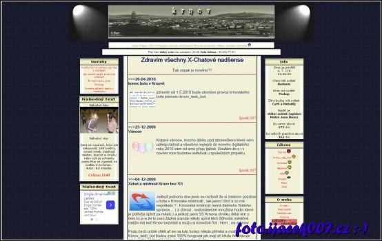 první web s použitím PHP