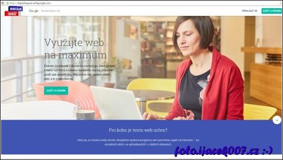 webová stránka projektu