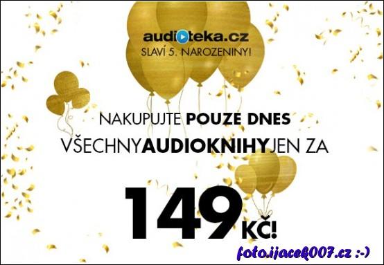 Audiotéka slaví páté narozeniny