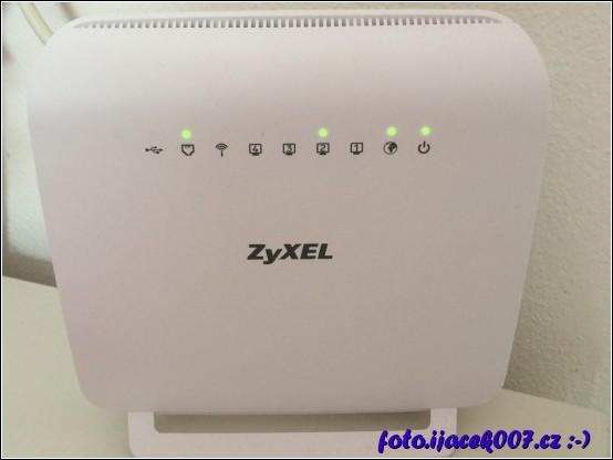 zařízení dodávané O2 k připojení VDSL internetu