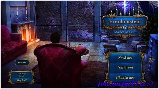 Pohled na první obrazovku hry