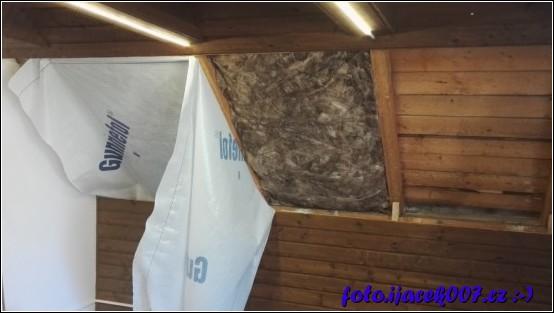 obrázek pohled na postup instalace izolace