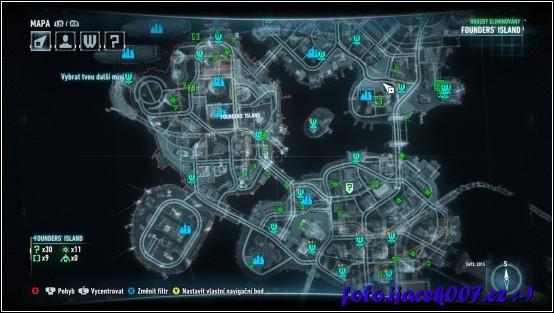 pohled na mapu na které je dostatek místa pro vyblbnutí