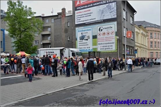 Zájem o prohlídku pracoviště Ostravské televize byl nemalý