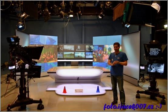 Pohled na studio České televize Ostrava