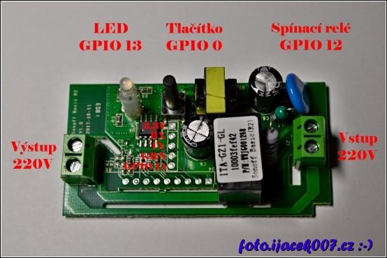 popis elektroniky